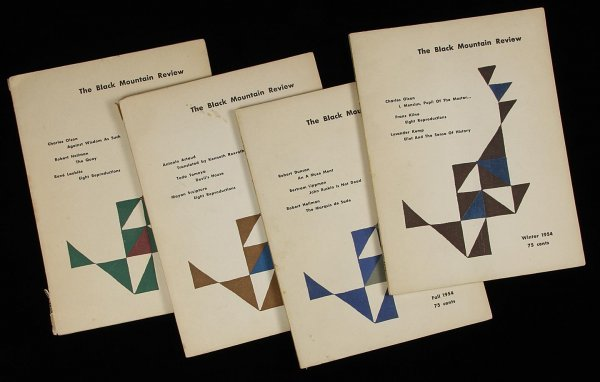 1013: Black Mountain Review 1st four issues, 1954