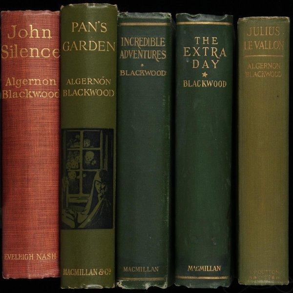 1015: Lot of five titles by Algernon Blackwood