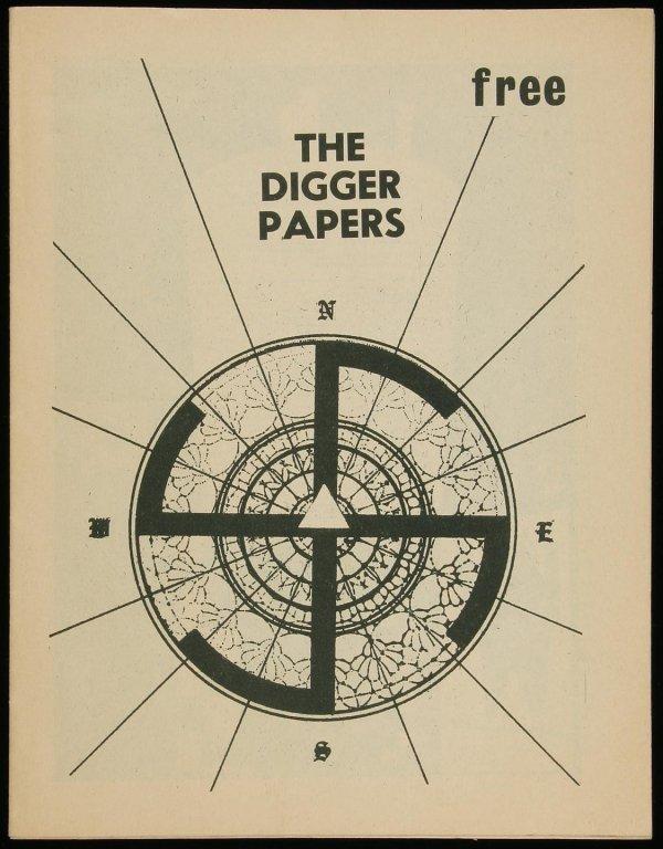 1017: The Digger Papers 1967, Brautigan, Cassady, etc.