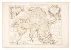 De Fer map of Asia 1722