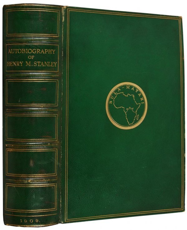 2003: Autobiography of Henry M. Stanley limited edition