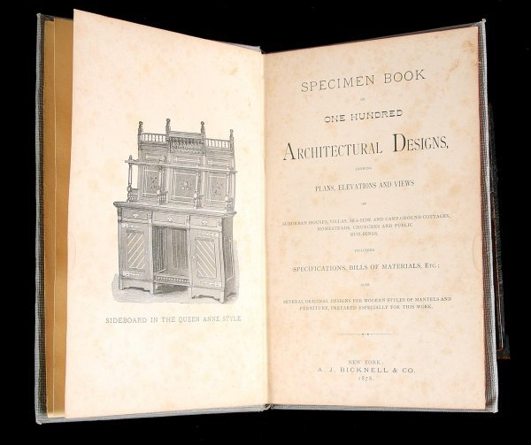 2006: One Hundred Architectural Designs 1878
