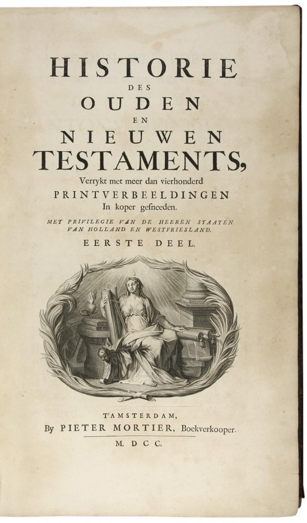 2018: Mortier Bible 200+ Engravings and Maps