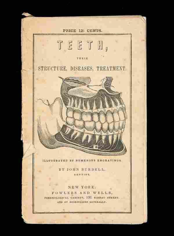 John Burdell on Teeth 1848