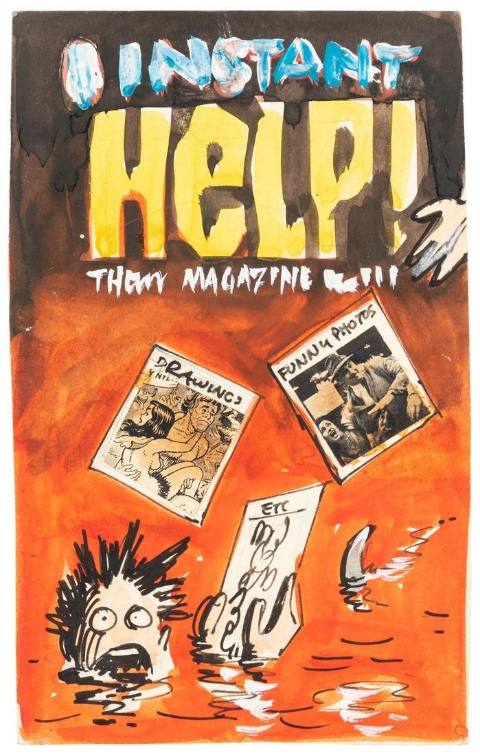 KURTZMAN's Preliminary Art: INSTANT HELP! Paperback