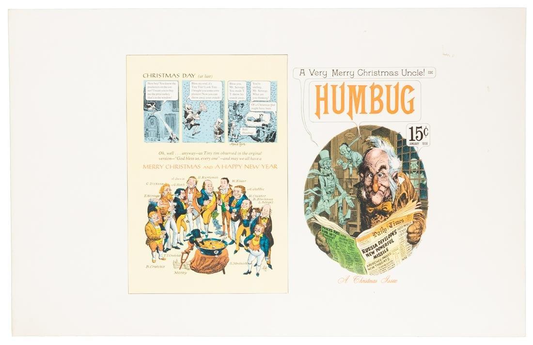HUMBUG #6 Uncut Publisher's PROOF * Kurtzman, Davis,
