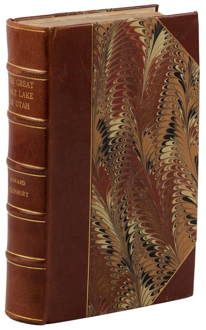 Stansbury's Great Salt Lake 1852, w/maps bound in