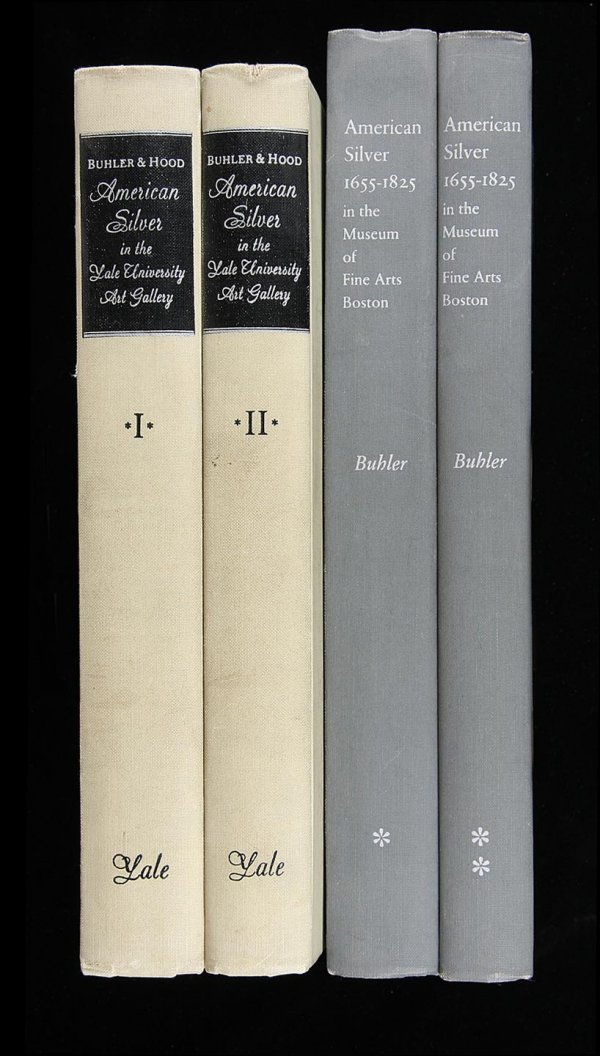 1: Two works on American Silver by Kathryn Buhler