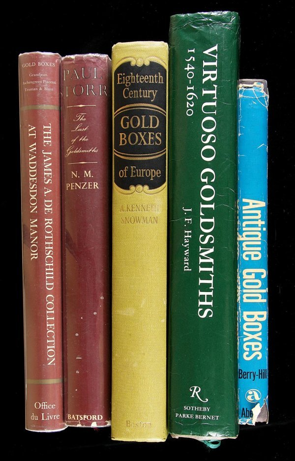 20: Five Volumes on Gold and Goldsmiths