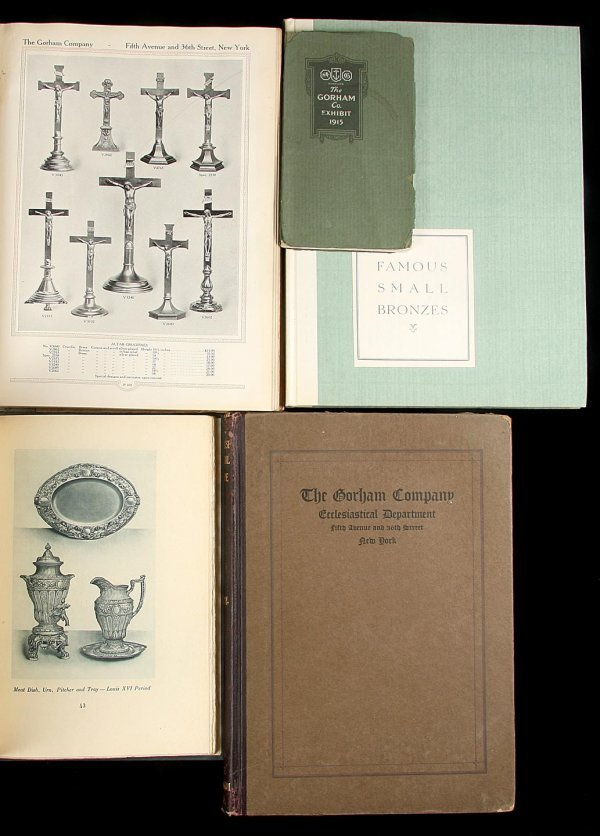 21: 5 Gorham Catalogues and Advertising Publications