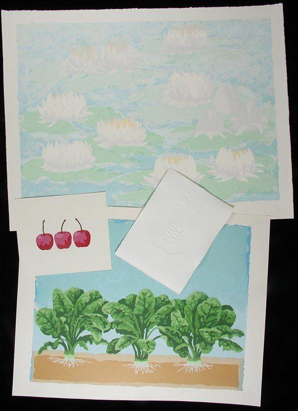 190: Over 1000 prints of flowers fruit vegetables etc.