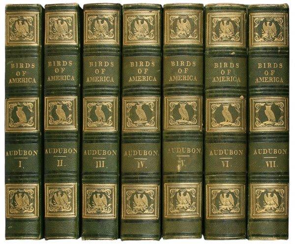 1006: Audubon's Birds of America 1st Octavo Edition