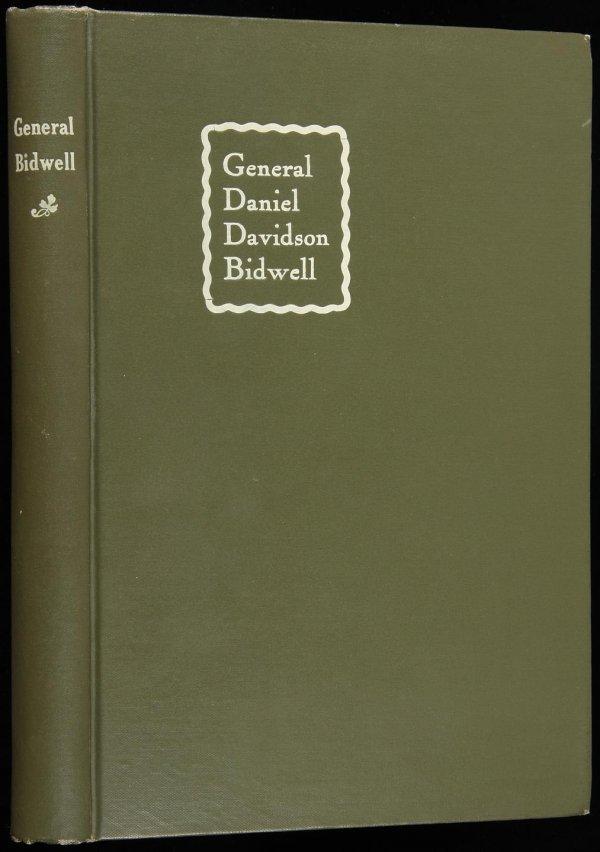 1011: Life of General Daniel Davidson Bidwell