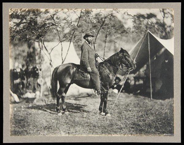 1016: Matthew Brady Photograph of Allan Pinkerton