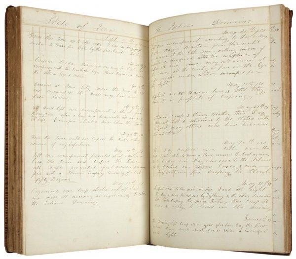 1024: Fascinating Diary California Gold Rush & More