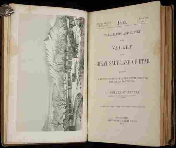 Survey of the Valley of the Great Salt Lake