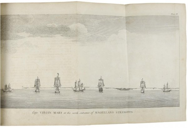 1220: Anson's Voyage with signed document