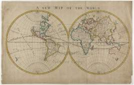 1381 Map of World with California an Island 1703