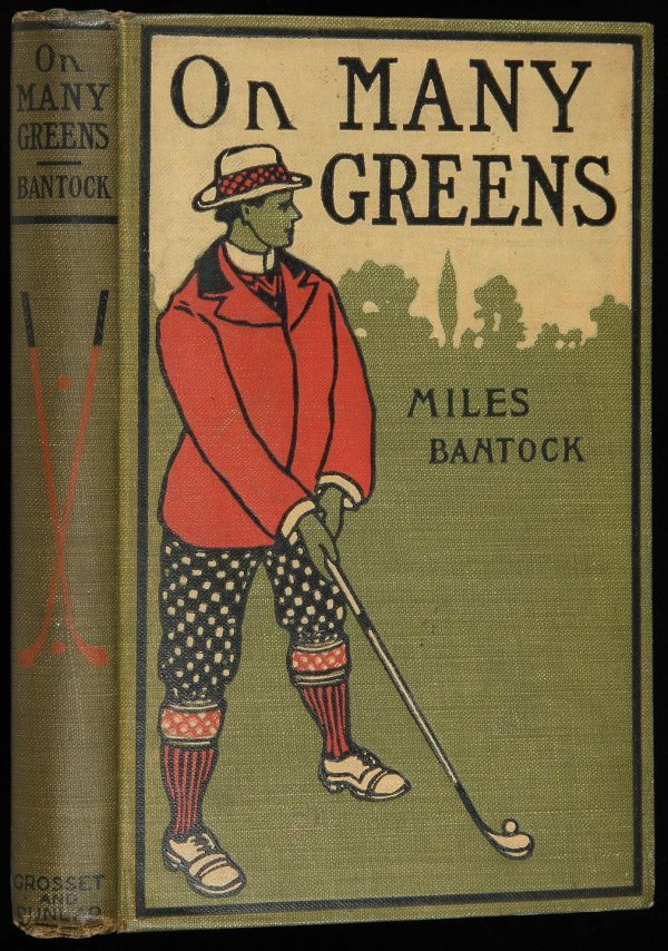 2021: Bantock, On Many Greens, first edition 1901