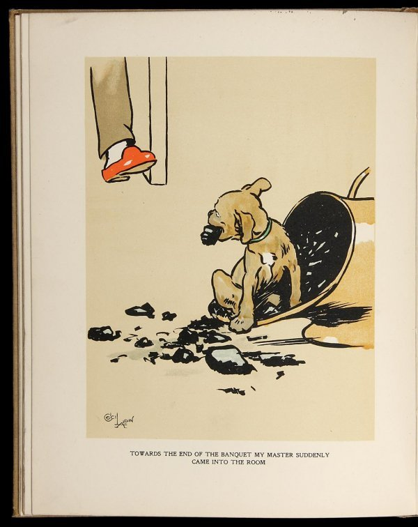 4004: Cecil Aldin Dog Who Wasn't What He Thought He Was
