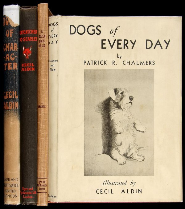 4006: 4 books written and/or illustrated by Cecil Aldin