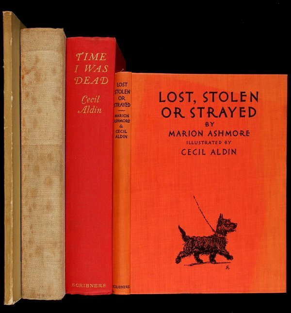 4007: 4 books written and/or illustrated by Cecil Aldin