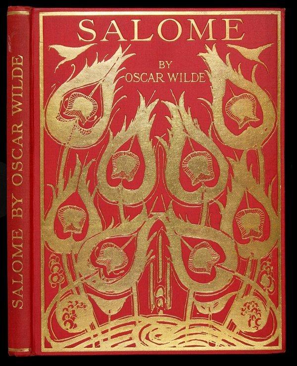 4010: Oscar Wilde Salome Aubrey Beardsly Illustrations