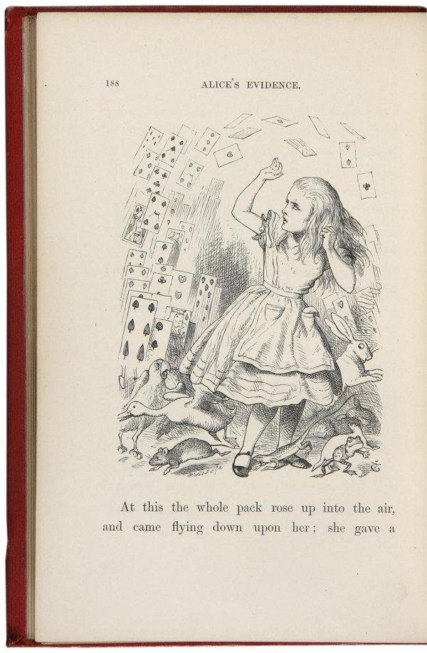 4018: 1866 Edition Alice's Adventures in Wonderland