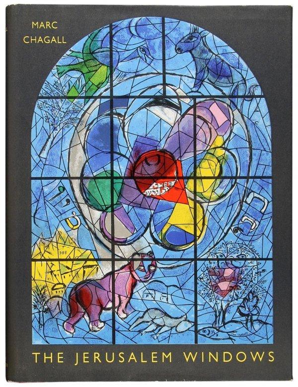 4024: Marc Chagall Jerusalem Windows w/ 2 color lithos