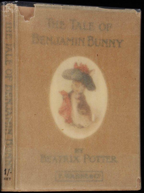 4096: Tale of Benjamin Bunny in Glassine DJ 1905