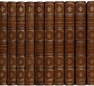 4287 Shakespeares Works Cambridge Edition Finely Bound