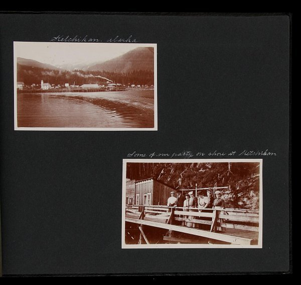 8: C. 1905 Alaska Photo Album