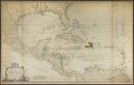 398: Speer's large Chart of West Indies 1774