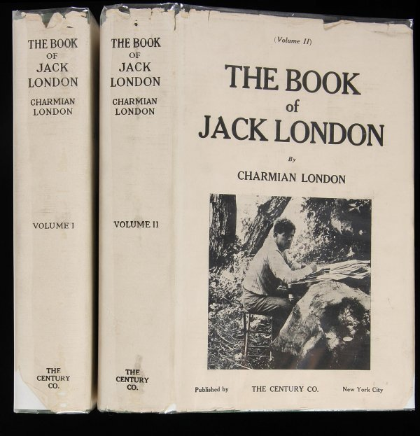 1001: Book of Jack London, inscribed by Charmian