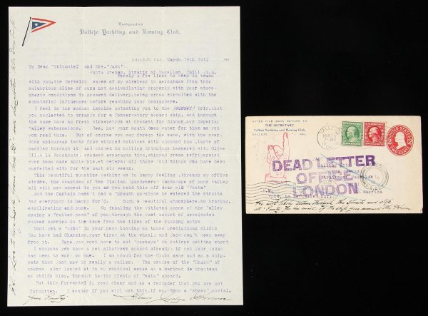 1016: Letter to Jack London from John Browne