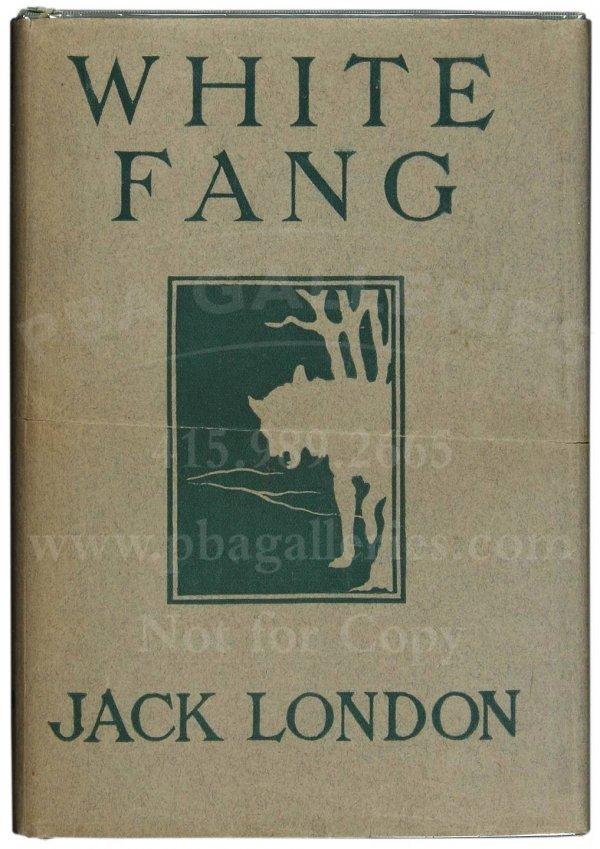 1080: Jack London's White Fang, 1st in jacket
