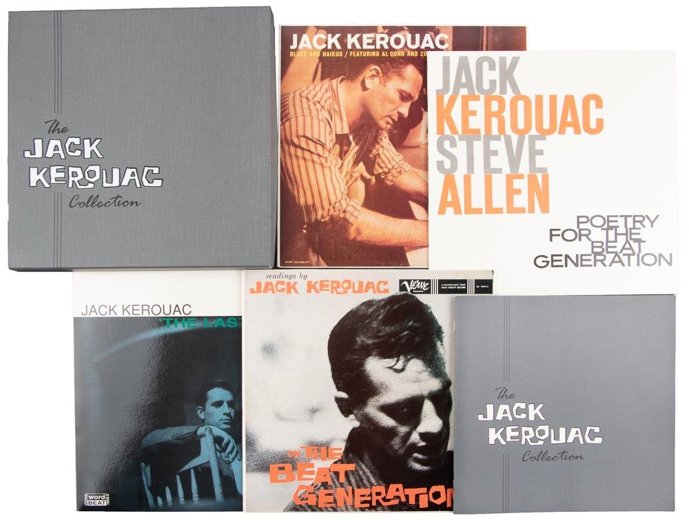 The Jack Kerouac Collection 4 LPs