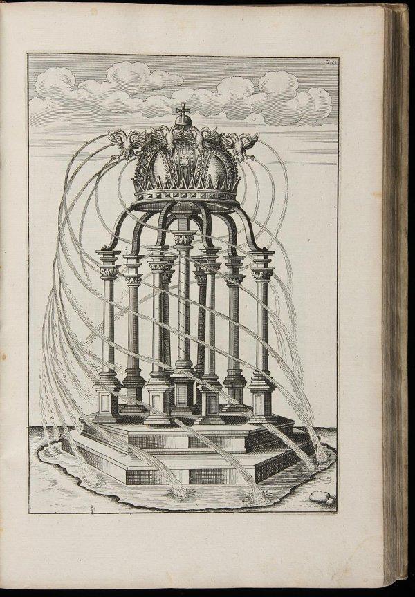2011: Rare 17th Century Work on Fountains