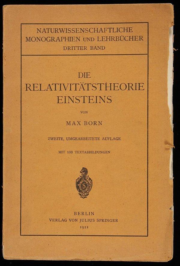 2012: Born on Einstein's Theory of Relativity