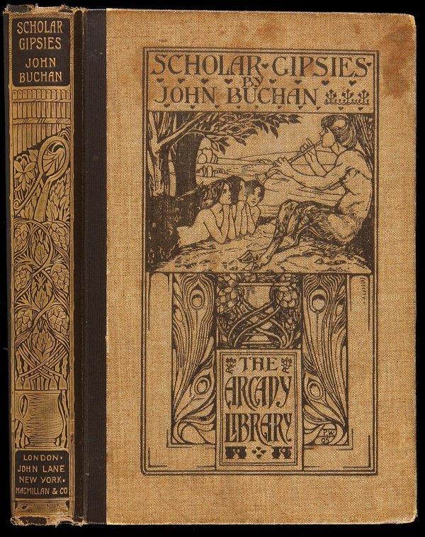 2020: Buchan's Scholar Gipsies, Art Nouveau Binding