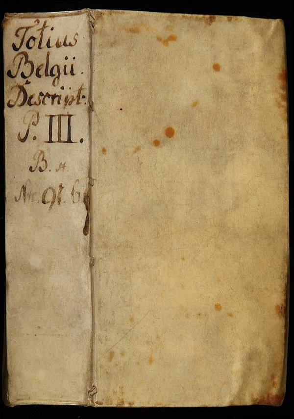2072: Pars Tertia de Belgica with 32 Copperplates