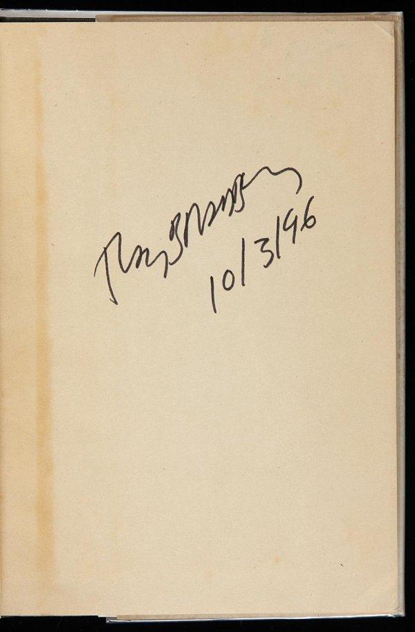 4011: Ray Bradbury Dark Carnival Signed 1st Edition
