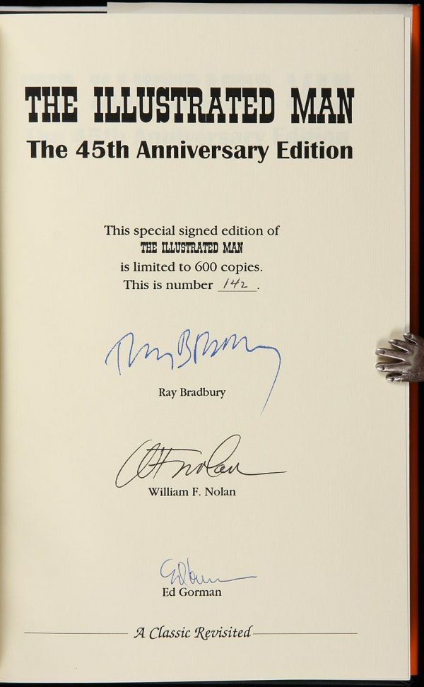 4013: The Illustrated Man. The 45th Anniversary Edition