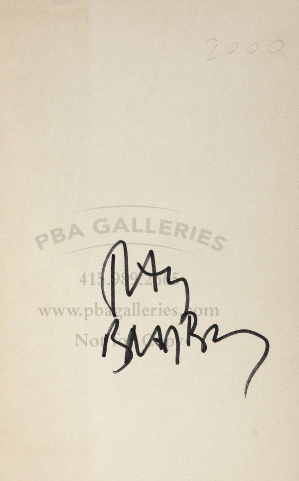 4014: Bradbury, The Martian Chronicles 1st Ed. signed