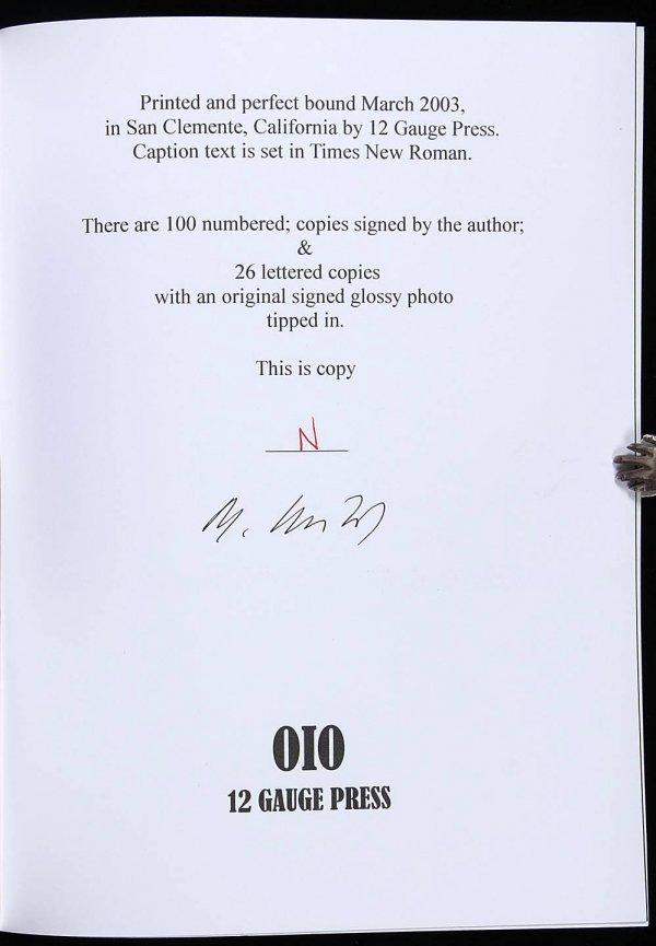 4018: Charles Bukowski The FBI Files 1 of 26 copies