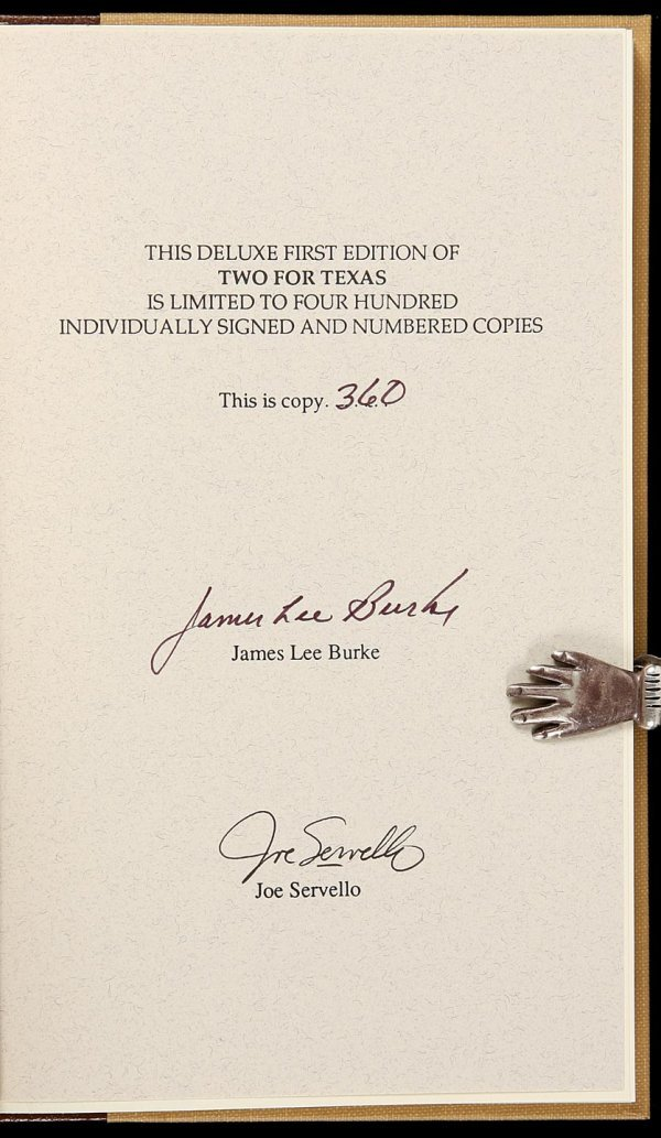 4023: Signed, Limited Edition of Burke's Two for Texas