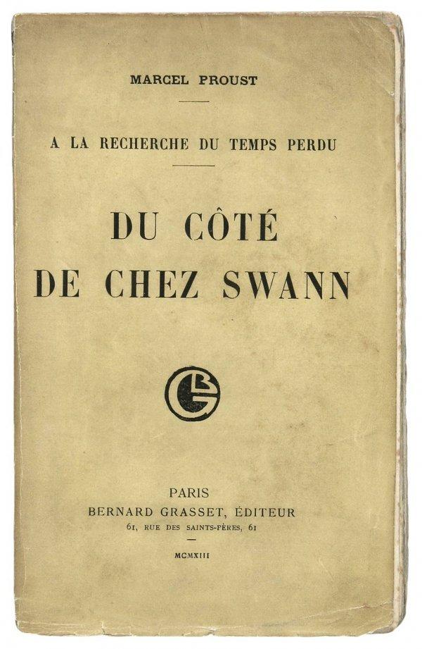 4232: Proust Recherche Du Temps Perdu complete 1st