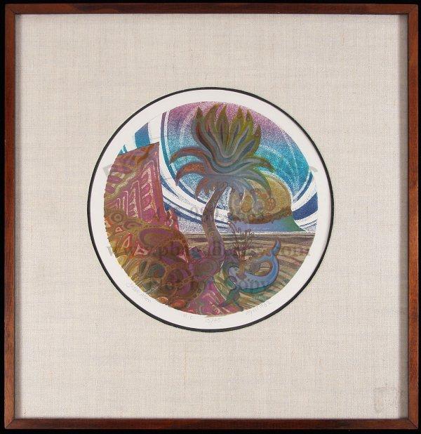 1: Lot of 3 Framed Prints by Jesse Allen