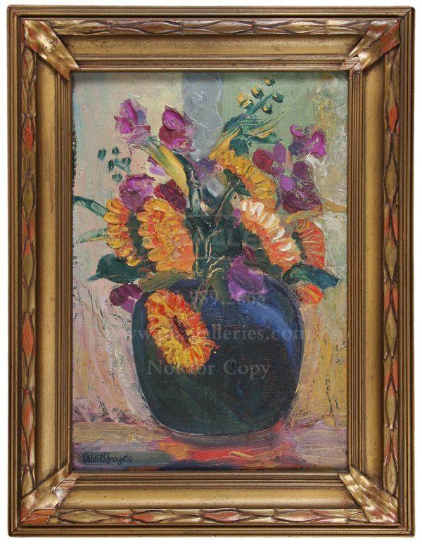5: Original Valenti Angelo Oil Painting