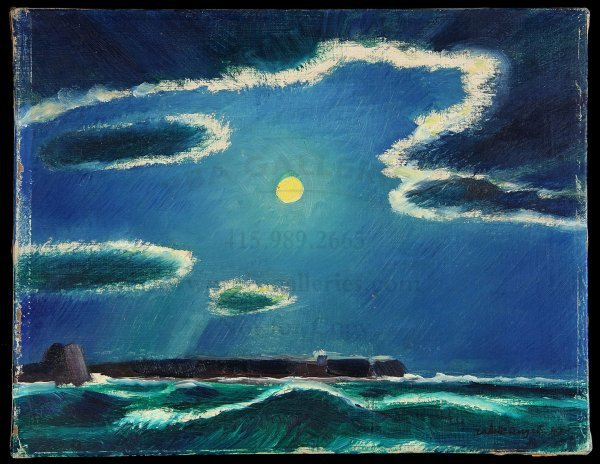 6: Original Valenti Angelo Painting